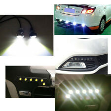 12V 10W LED Round Car Daytime Running Light DRL Head Lamp Eagle Eye White Lights