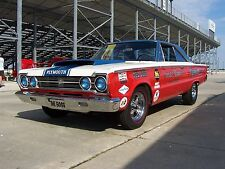 1967 Plymouth Satellite GTX, SOX & MARTIN, Refrigerator Magnet, 40 mil thick