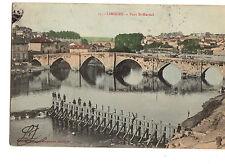 OLD POSTCARD -FRANCE- 15 Limoges -Pont St Martial - c 1910
