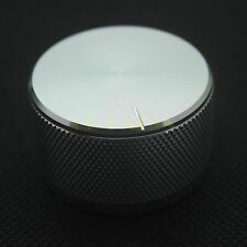 2PCS 38*22mm High Quality Solid Aluminum Knob Amplifier Speaker Volume Control
