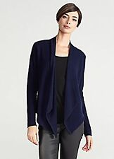 Eileen Fisher Cashmere Open Front Cardigan XS