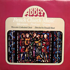 Abbey LPB 780 French Church Music Worcester Cathedral Choir [1977] NM/EX
