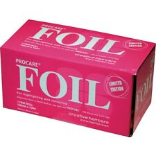 PROCARE Premium Quality Pink Hair Highlighting Foil Roll 100mm x 100metre