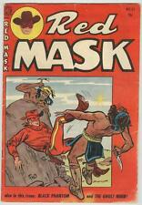 Red Mask #42 May 1956 VG Ghost Rider story
