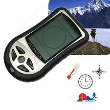 Portable 8 In 1 Digital LCD Compass Barometer Altimeter Thermo Temperature