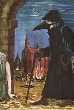 LE #1 4X6 POSTCARD RYTA ART RAVEN CROW GOTHIC SURREALISM DARK AGES MIDDLE PLAGUE