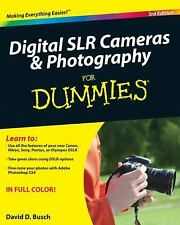 Digital SLR Cameras and Photography For Dummies (For Dummies-ExLibrary