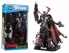 "SPAWN REBIRTH 7"" inch ACTION FIGURE COLOUR TOPS BLUE MCFARLANE"