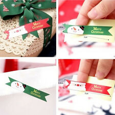 36pc Merry Christmas Santa Stickers Seal Label DIY Cardmaking Scrapbooking Craft