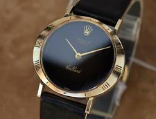 Rolex Geneve Cellini 18K Solid Gold Manual Wind 1970 Swiss Ladies Watch SIW139
