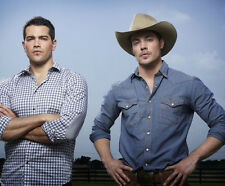 Jesse Metcalfe & Josh Henderson UNSIGNED photo - P2628 - Dallas