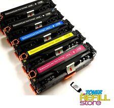 5PK Cartridges for HP CF210X CF211A CF212A CF213A LaserJet Pro 200 M251nw M276nw