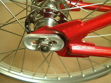 HELIX BMX DROPOUT SAVERS -Fits CRO-MO STEEL BMX & FIXED GEAR Frame w/ 3/8""