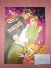 BL Doujinshi Resident Evil BIOHAZARD BOW WOW PANIC!! Chris×Piers/FUNNY CREW
