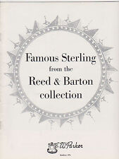 VINTAGE CATALOG #2433 - 1960s REED AND BARTON STERLING