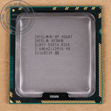 Intel Xeon X5687 - 3.6 GHz (AT80614005919AB) LGA 1366 SLBVY CPU 6.4 GT/s