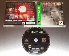 Silent Hill ☆☆ Complete w/ MINT CASE, EX+ Condition ☆☆ - PS1 Playstation 1