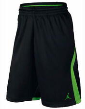 NIKE JORDAN KNIT BASKETBALL SHORTS MEN LARGE NWT 846753 BLACK NEW