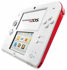 Nintendo 2DS Hand Held Console (White + Red) - Brand New and Sealed - Free P&P