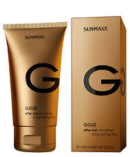 Sunmaxx Gold After Sun Lotion Smoother Long Lasting Tan Solariumkosmetik 150 ml