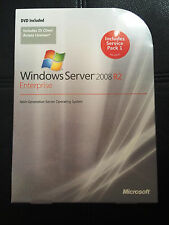 Microsoft Windows Server 2008 R2 Enterprise,SKU P72-03827,25 CAL,Full Retail Box