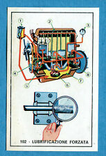 STORIA DELL'AUTOMOBILE Panini Figurina-Sticker n. 102 - LUBRIFICAZIONE -Rec