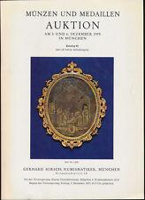 HN HIRSCH Munzen und Medaillen Auktion Katalog 95 Munchen Dezember 1975