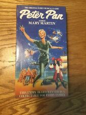 Peter Pan Mary Martin Musical VHS GOODTIMES PLATINUM 199- NEVER OPENED