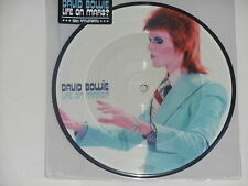 "DAVID BOWIE -Life On Mars?- 7"" 45 Picture Disc  NEU"