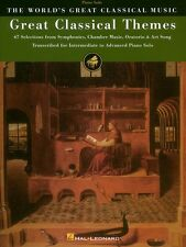 Great Classical Themes Sheet Music 67 Selections from Symphonies Chamb 000310300