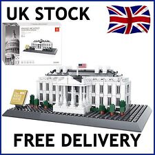 THE WHITE HOUSE OF WASHINGTON AMERICA CREATOR BUILDING BRICKS 778 PCS COMPATIBLE