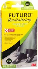 FUTURO Revitalizing Trouser Socks For Women Medium Blac