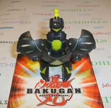 Bakugan Aranaut Black Darkus Gundalian Invaders DNA 720G & cards