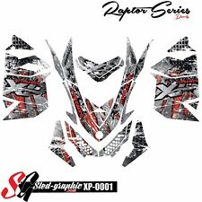 WRAP GRAPHICS DECAL KIT FOR SKI-DOO REV XP MXZ 2008 2009 2010 2012 2013 xp0001