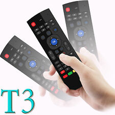 2.4G Wireless Air Fly Mouse Keyboard Remote Control For Android TV Box T3