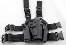 Tactical Drop Leg Thigh Right-hand Holster With 2 Pouches for P226 P227 P229