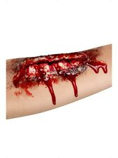 Halloween Open Wound Scar Flesh Latex With Adhesive Just Add Blood For Effect