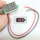 3.3 ~ 30V DC 3 Digital Display Voltmeter Panel LED Power Voltage Volt Meter Red