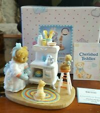 Cherished Teddies Dorothea and Missy Lots of Lovin in the Oven