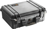 New Black Pelican 1520 Case NF empty includes Free Engraved Nameplate