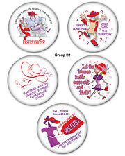 "#22 FUNNY 3"" BUTTON /MAGNET GROUP GREAT GIFT FAVOR FOR RED HAT LADIES OF SOCIETY"