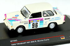 1/43 scale IST Models IST083 Trabant 601 #96 Rally Monte Carlo 1992