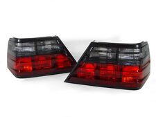 DEPO 86-95 Mercedes Benz W124  E CLASS Euro Smoke Tail Brake Lamp Light PAIR