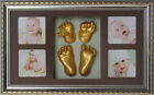 Newborn Baby 3D Casting Kit Hand & Foot Print Keepsake DIY Shadowbox Photo Frame
