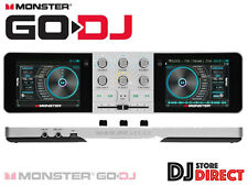 NEW MONSTER GO DJ - Portable DJ Stand Alone System TOUCH Screen SD - FREE P&P