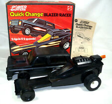 Super Rare 1978 Mattel Quick Change Power Shifters Black Chevy Blazer Dragster