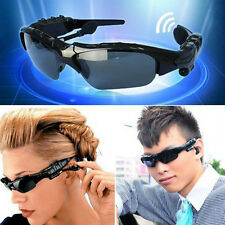 Wireless Flip-up Sunglasses Bluetooth Stereo Music Headphone Phone/laptop NEW A+