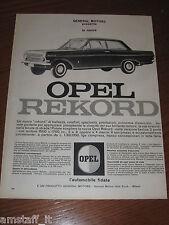 AH11=1963=OPEL REKORD=PUBBLICITA'=ADVERTISING=WERBUNG=
