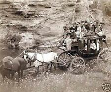 Stagecoach Old West Wild West Western USA, 5x4 Inch Reprint Photograph