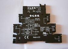 INTERFACCIA MODULARE ELCO RELE STATICO EZD-24D 6-24VDC BARRA DIN 6A 250VAC